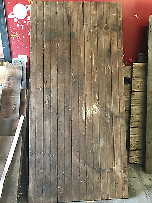 "Antique Barn Wood Door 79 1/2"" x 37 7/16"""