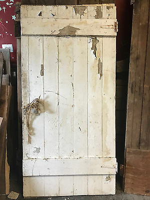 "Antique Barn Wood Door 69 1/2"" x 33 3/4"""