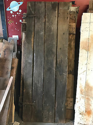 "Antique Barn Wood Door 78 3/16"" x 28"""