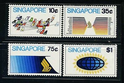 SINGAPORE SC175~8 Set, 1973 Singapore Airline, MNH $9