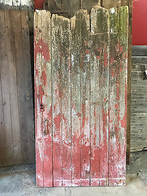 Antique Barn Wood Door 70 1/2 x 36""