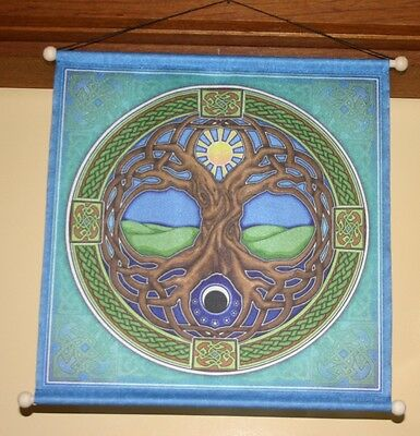 "Meditation Banner ""tree Of Life"""