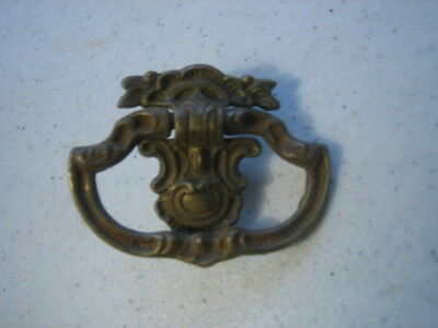 Antique Vintage Victorian Ornate Drawer Pull