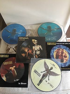 Nirvana collection Of Picture Discs X 6 Vinyl