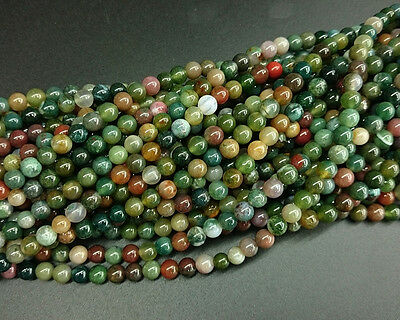 8mm natural stone beads indian agate beads round loose gemstone beads in bulk