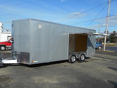 ATC RAVEN 8.5x20+2 7700 GVWR Aluminum Trailer IN STOCK!  2017 MODEL CLEARANCE!
