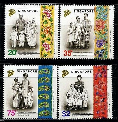 SINGAPORE SC627~30 Set, 1992 Families MNH $5