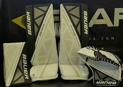 Bauer Junior S170 Goal Pads and Gloves