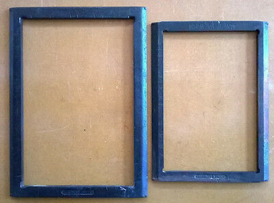 """12"""" x 18"""" and 10"""" x 15"""" chases for C & P press"""
