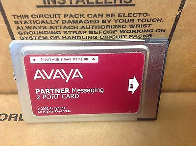 AVAYA PARTNER Messaging 2 Port License Card 515A 700262454
