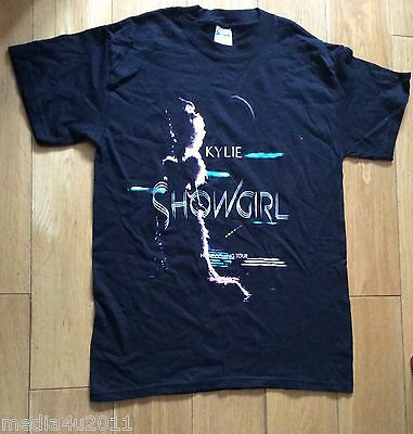 Kylie Minogue Showgirl Homecoming Tour Concert Australian & Uk T Shirt Large New