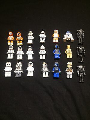 Lot Of Lego Star Wars Figures. Less Than £2 Each