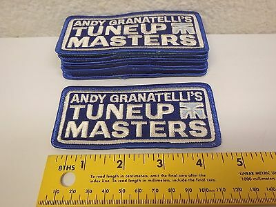 Vintage Andy Granatelli TuneUp Masters 10-Lot Of NOS Patches Indy Racing 1980's