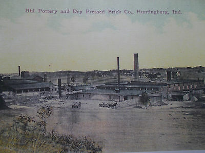 Uhl Pottery and Dry Pressed Brick Co. Huntingburg IN picture