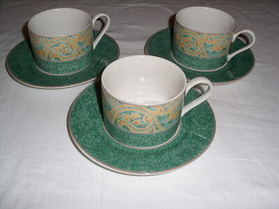 British Home Stores BHS VALENCIA Cup and Saucer X 3