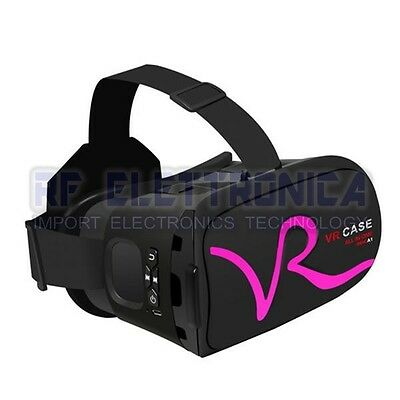 VR CASE Bluetooth Virtual Reality 3D Glasses with Touch Function