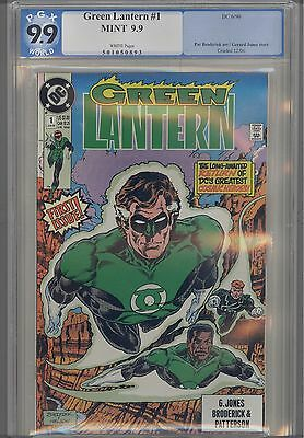 Green Lantern V3 #1  PGX  9.9 MINT : 1990 DC Comic published before CGC