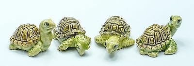 Figurine Animal Ceramic Statue 4 Turtle - CAT003