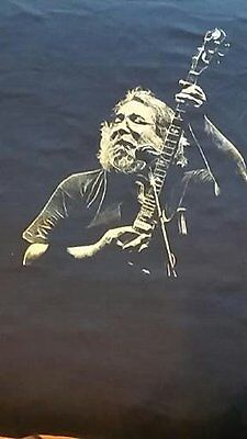 CELEBRATE JERRY'S 75th BIRTHDAY - ONE OF A KIND JERRY GARCIA T-SHIRT - LIMITED