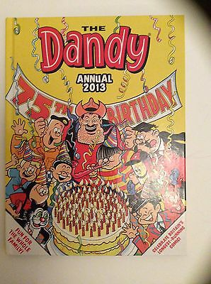 DANDY COMIC STORY BOOK ANNUAL 2013 BRAND NEW CONDITION 75th ANNIVERSARY EDITION