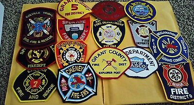 15 Misc Fire Department Patches