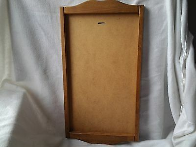 Vintage Lang Graphics Solid Wood Calendar Holder Delafield Wisconsin Usa