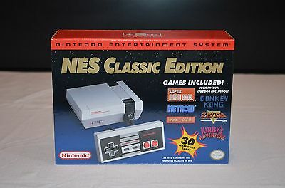 *IN HAND*  NES Classic Edition White Console - BRAND NEW  - DISCONTINUED!