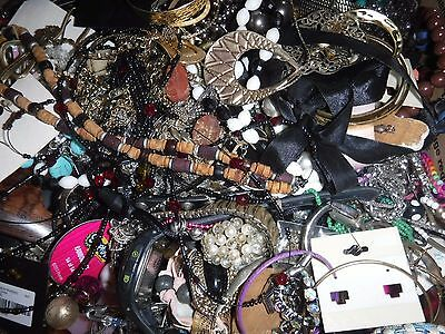 Craft Jewelry 20 Lbs Lot C 1 Grab bag Vintage & Cont. Various Craft Jewelry