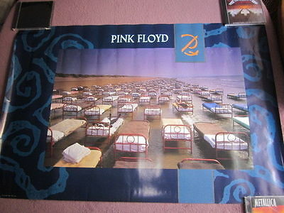 Pink Floyd 1987 A Momentary Lapse Of Reason Promo Poster Gilmour Mason Wright