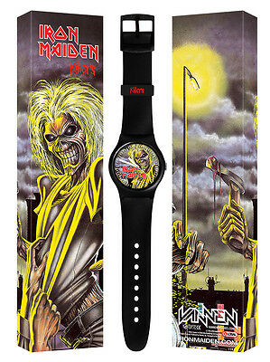 Iron Maiden Vannen Killers Watch Limited Book Of Souls Trooper New Only 250 Made