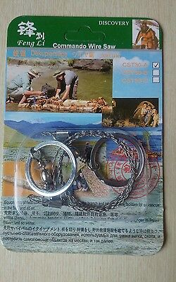 Steel wire saw hunting camping commando hiking climbing prep