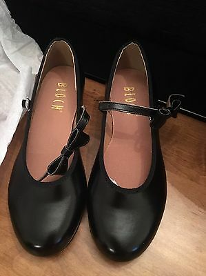New Girls Bloch 13.5 Mary Jane Tap Shoes