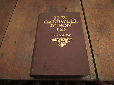 Ca 1920 H.w.caldwell Catalog No.45 Conveyor Gear Machinery Mill Agriculture