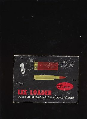 Lee Loader 357 Mag Complete Reloading Tool In Original Box With Instructions