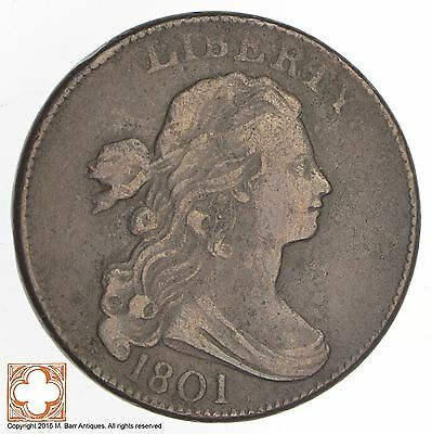1801 Draped Bust Large Cent *0639