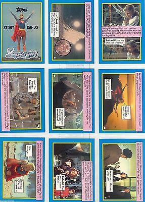 Supergirl Movie (Superman) - Complete Card Set (1-44) 1984 Topps @ Near Mint