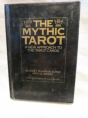 Vintage The Mythic Tarot-New Approach to the Tarot Cards-Sharman-Burke & Greene