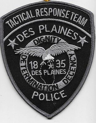 Des Plaines Ill Il Police Swat Subdued Tactical Response Team Eagle Dps Ppd Pd