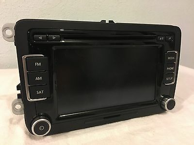 Delphi 28372938 VW Touch Screen Radio MP3, SIRUS, 6 Disc Player 1K0 035 180 AF