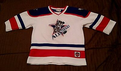 Walt Disney World Kids Mickey's All Stars Hockey Jersey #28 Youth M 7/8 Mouse