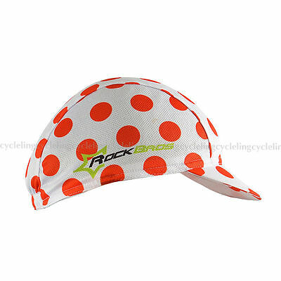 RockBros Bike Bicycle Cycling Cap Hat Riding Sunhat Suncap Polka Dot