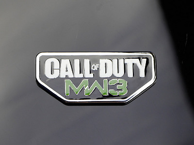 Metal Call of Duty MW3 Car Badge Emblem decal sticker For Jeep Dodge Chrysler