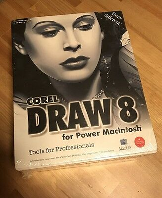 Corel Draw 8 For Macintosh (New Never Opened)