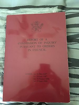 Report Of A Commission Of Inquiry Pursuant To Orders In Council (Fitzgerald Rep)