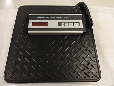 SILTEC Heavy Duty Scale Model PS-500L 500 lb capacity, 0.5 lb resolution Look!