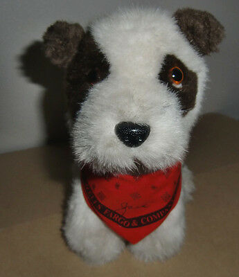 Wells Fargo Co. Exclusive Banking JACK The Terrier dog plush by Animal Fair 1990