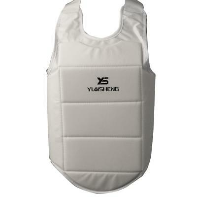 Unisex Karate Chest Guard Body Shield Boxing Taekwondo Chest Protector XL