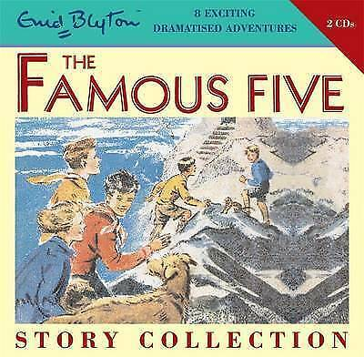 THE FAMOUS FIVE STORY COLLECTION by Enid Blyton (CD-Audio, 2007) BRAND NEW