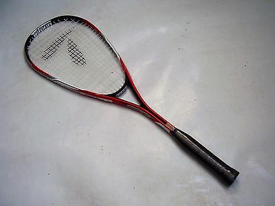 New!!! Teloon Tornado Tour 170 Adult Alloy Squash Racquet & Cover