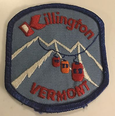 KILLINGTON Skiing Ski Patch VERMONT VT Resort Souvenir Travel Vintage